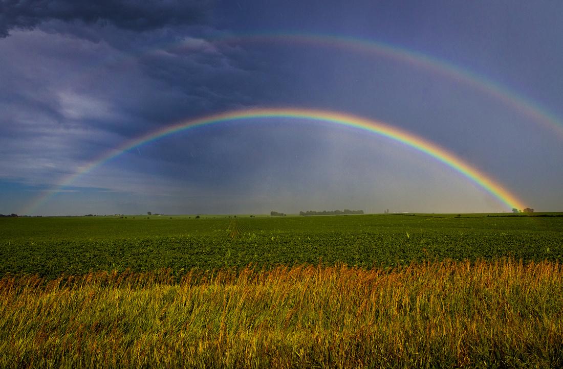 Summer Storm Rainbow