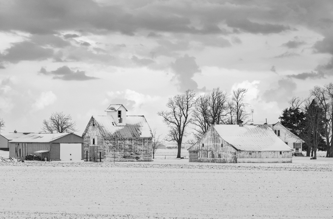 Illinois Farm in the Winter