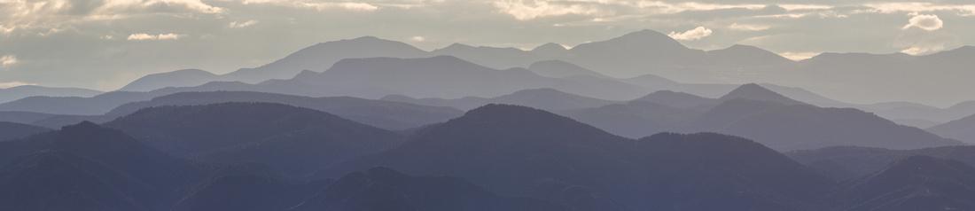 The Rockies at Dusk